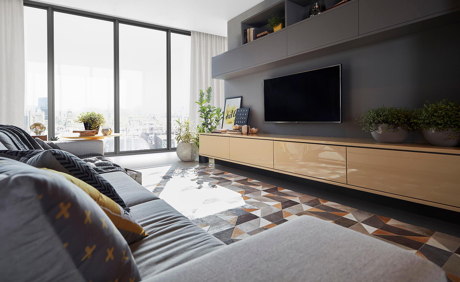 Sala planejada New Móveis