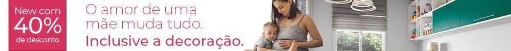 Mês das Mães - 40% de desconto à vista